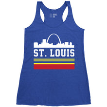 Load image into Gallery viewer, Retro Skyline Ladies Racerback Tank