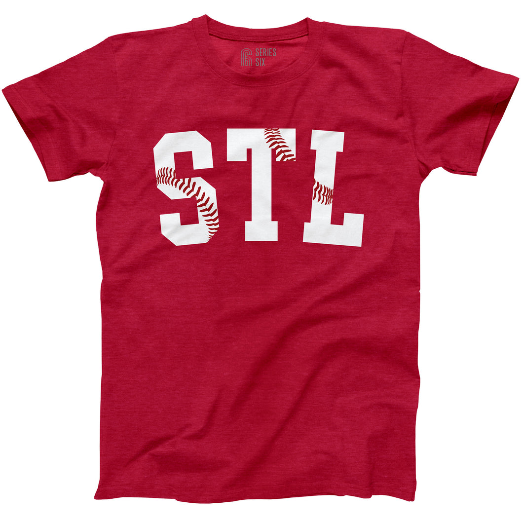 STL Stitches Unisex Short Sleeve T-Shirt - Red