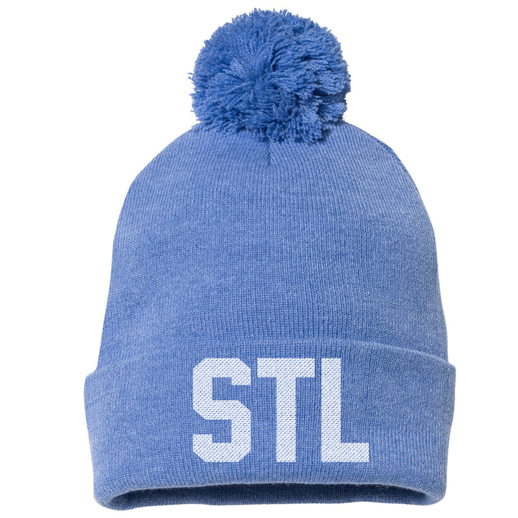 STL Knit Beanie Hat - Royal