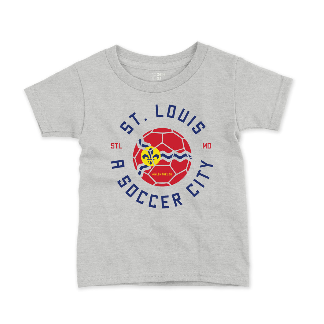 Soccer City Toddler + Youth T-Shirt