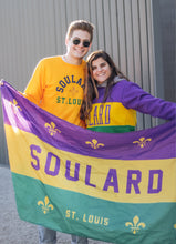 Load image into Gallery viewer, Soulard Mardi Gras Flag - 3 x 5