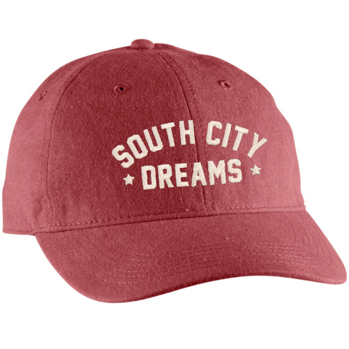 South City Dreams Unisex Hat - Faded Red