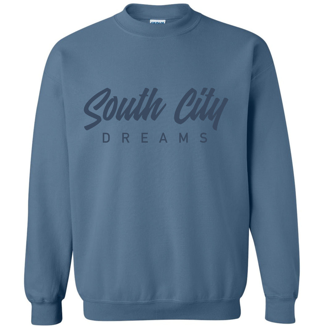 South City Dreams Crewneck Unisex Sweatshirt
