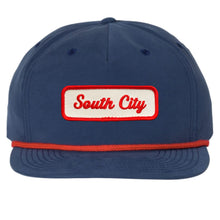 Load image into Gallery viewer, South City Rope Bill Snapback Hat