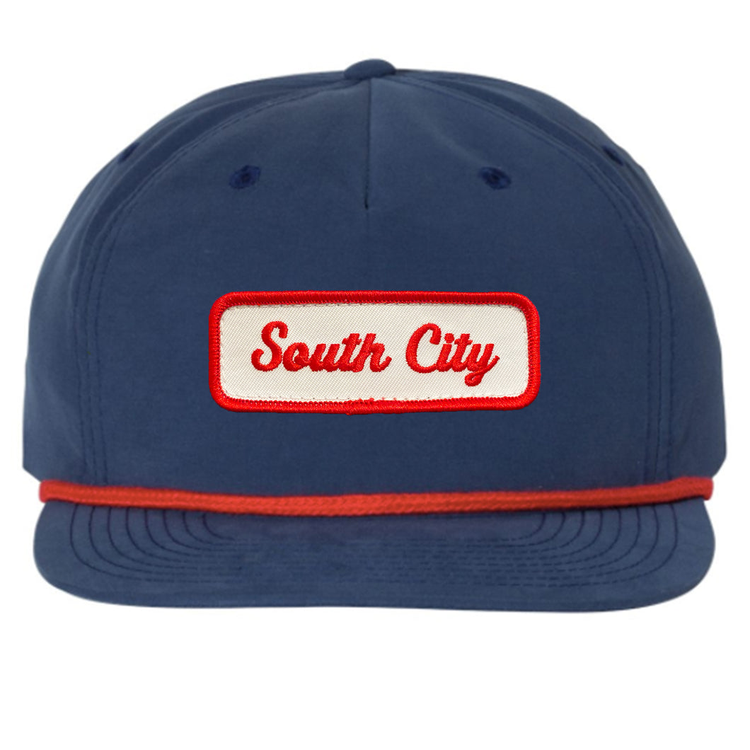 South City Rope Bill Snapback Hat