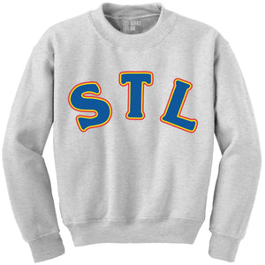 Throwback STL Crewneck Unisex Sweatshirt