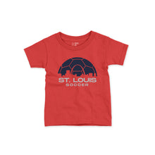 Load image into Gallery viewer, Soccer Skyline Toddler + Youth T-Shirt