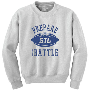 Prepare for Battle Unisex Sweatshirt