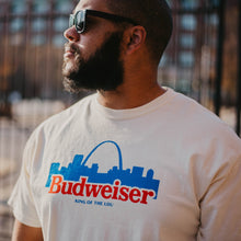 Load image into Gallery viewer, Budweiser Skyline Unisex Short Sleeve T-Shirt