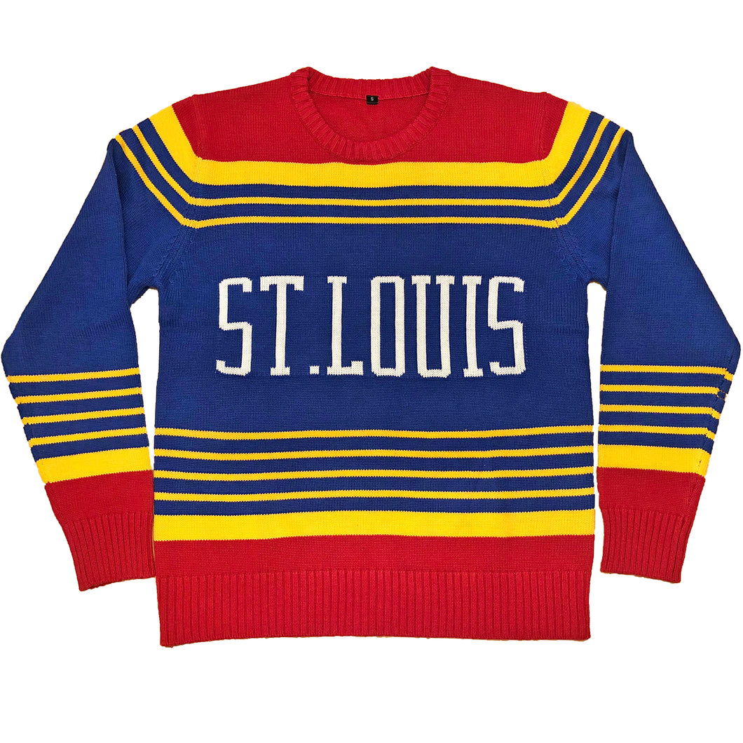 Retro Knit Unisex Sweater