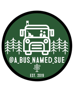 A Bus Named Sue Sticker
