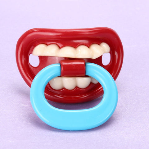 Funny Lip Silicone Baby Pacifier