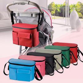 Baby Diaper Bags For Stroller Fashion Thermal Insulation