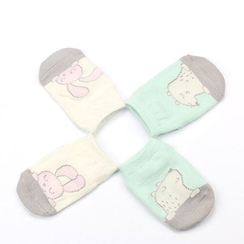 Cartoon Unisex Newborn Socks