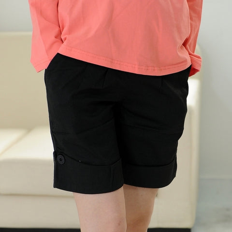 Fashioned Maternity High Waist Short