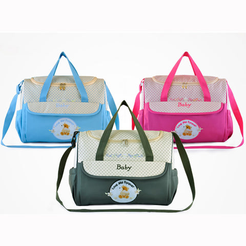 Multifunctional Insular Mummy Baby Bag