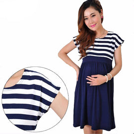 Fashioned Maternity Dress for Pregnant Women