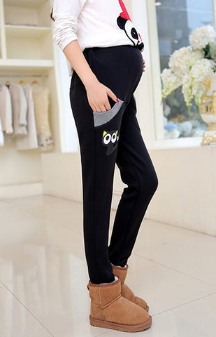 Fashion Maternity Clothing Long Trousers for Pregnant Women