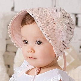 Spring Cap Summer Sweet Princess Hollow Baby