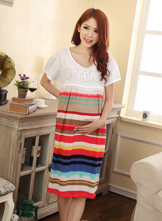 Cute Fashionable and Great Maternity Dress