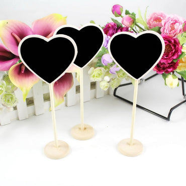 Mini Wood Chalkboard Decor