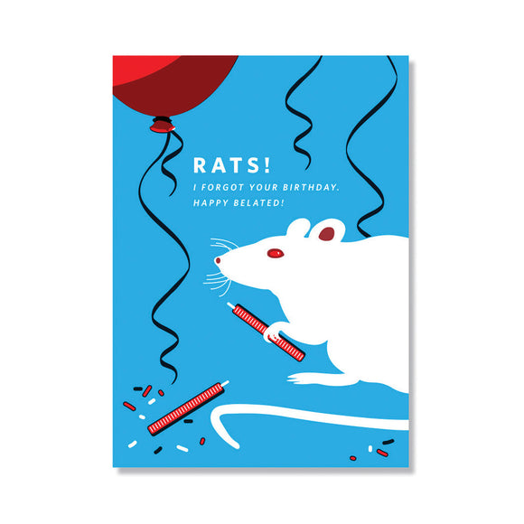 Rats! Belated Birthday