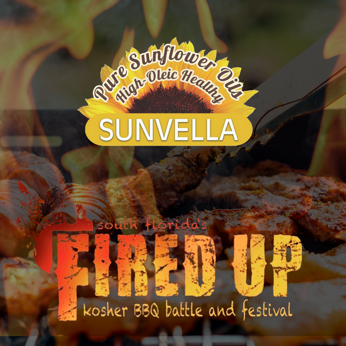 Kosher News: South Florida's Kosher BBQ Festival Goes High Oleic Healthy With SUNVELLA Oils