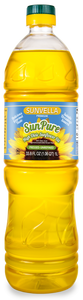 SUNVELLA SunPure Pressed-Unrefined (Virgin) High Oleic Sunflower Oil 33.8 Fl Oz (1.06 QT) 1L