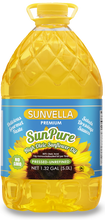 SUNVELLA SunPure Pressed-Unrefined (Virgin) High Oleic Sunflower Oil 1.32 GAL (5.0L)