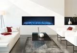 "Electric Fireplace recessed :50"", Wall Mount Electric Fire Place, Touchstone, contemporary LED - Contemporary LED"