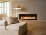 Recessed Electric Fireplace : 60""