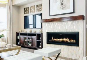 DIY  Electric Fireplace Insert : 60""