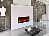 "Electric Fireplace Insert : 60"", Wall Mount Electric Fire Place, Touchstone, contemporary LED - Contemporary LED"