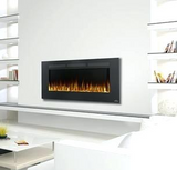 "Touchstone 80004 Sideline Electric Fireplace : 50"", Wall Mount Electric Fire Place, Touchstone, contemporary LED - Contemporary LED"