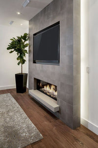 "LED Fireplace 50"", Wall Mount Electric Fire Place, Touchstone, contemporary LED - Contemporary LED"