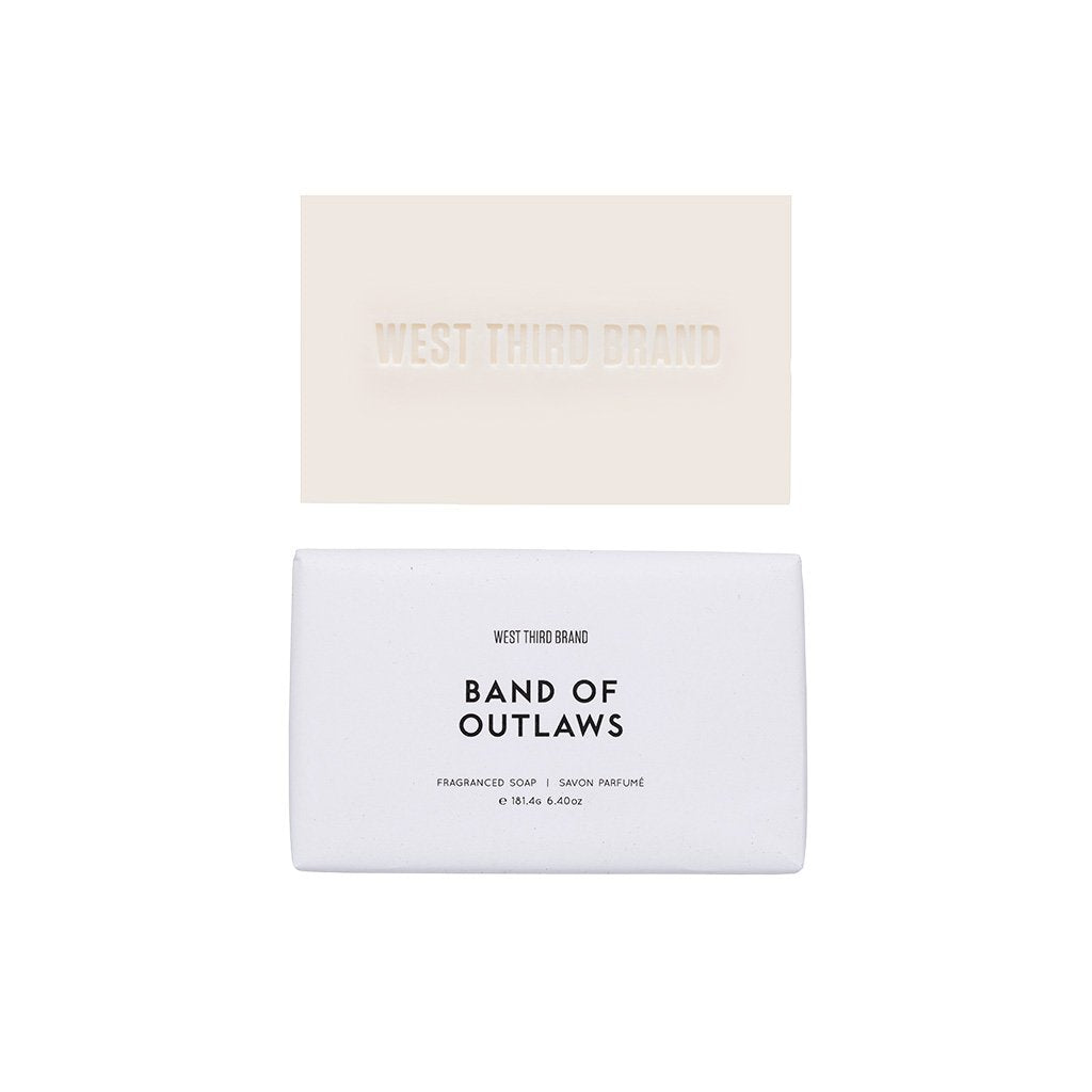 West Third Brand Band of Outlaws Bar Soap