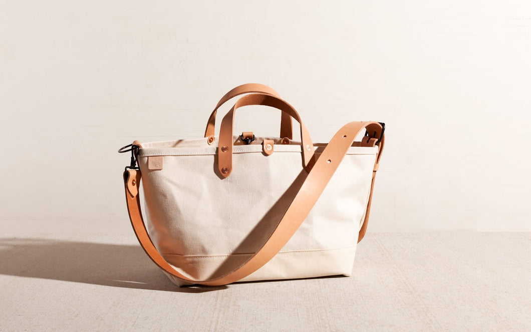 Joshu + Vela Boat Tote Medium in Vacchetta