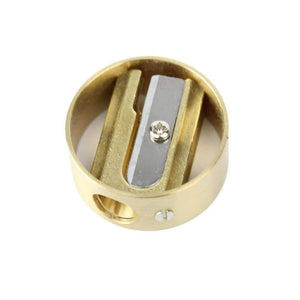 Brass Circular Brass Sharpener