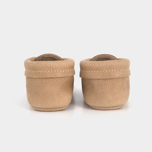 baby moccasin tan