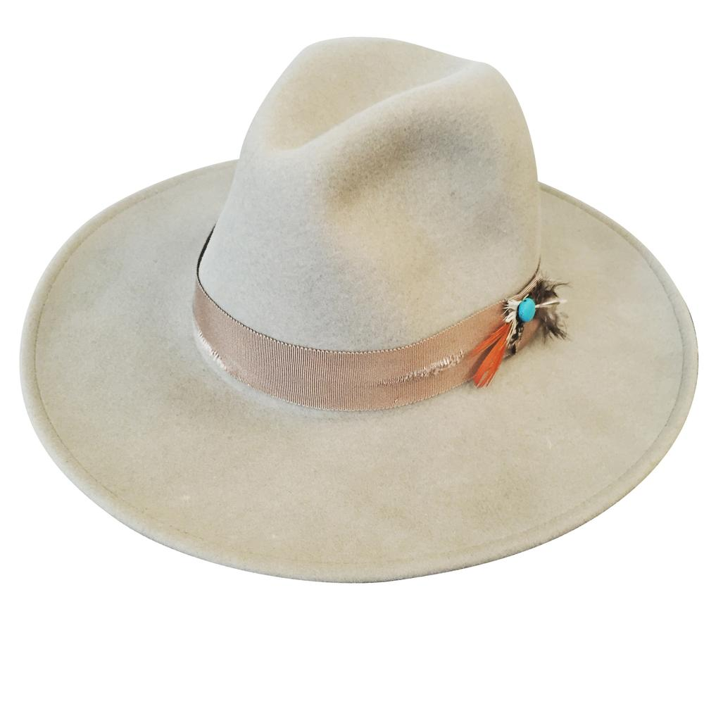Lovely Bird Dallas Fedora in Dust