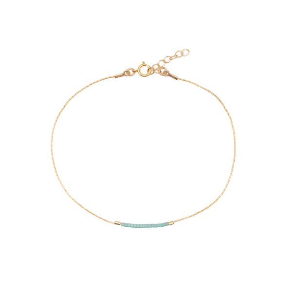 Son of a Sailor Anklet in Dusty Seafoam