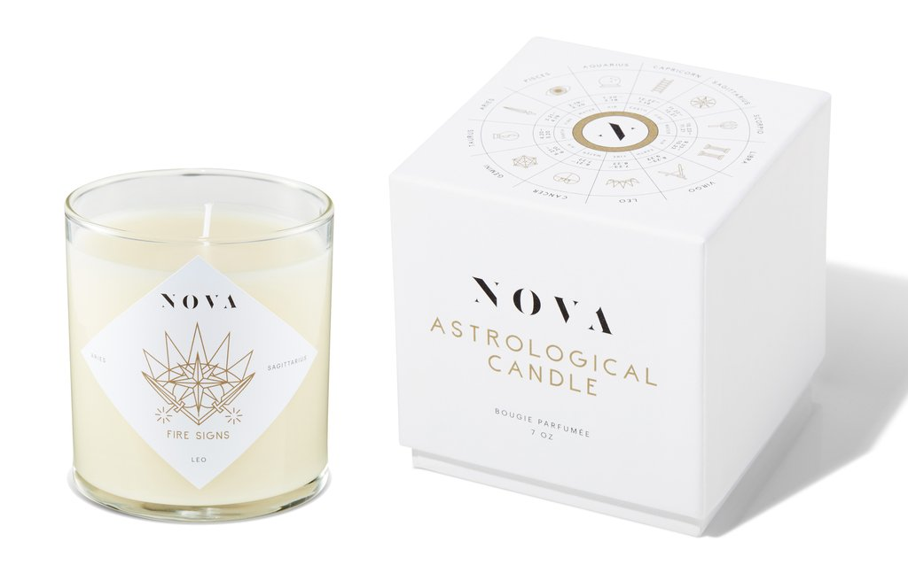 Nova Astrological Candle Fire Signs