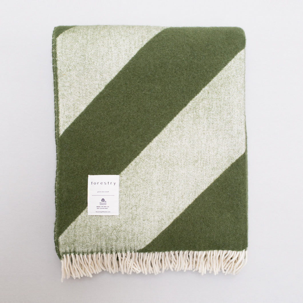 Forestry Home Wool Blanket