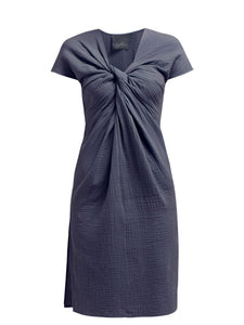 Loup Charmant Gilgo Dress in Slate Blue
