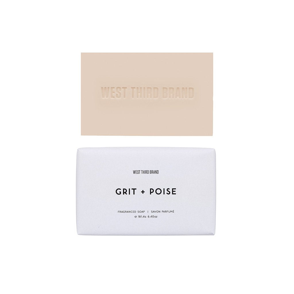 West Third Brand Grit + Poise Bar Soap