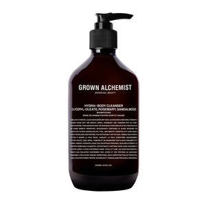 Grown Alchemist Hydra + Body Cleanser: Emerald Cypress CO2 Extract, Rosemary & Sandalwood