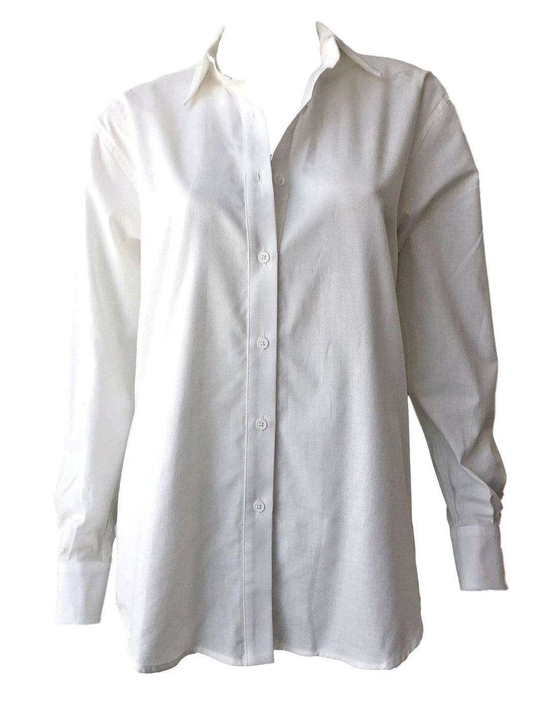 Emerson Fry Button Front Shirt in White
