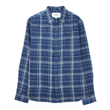 Corridor NYC Indigo Red Plaid Longsleeve