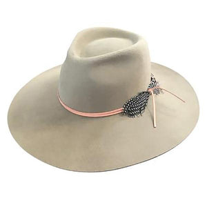 Lovely Bird Montana Fedora in Putty