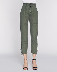 Marissa Webb Laszlo Washed Canvas Pant